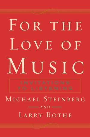 For The Love of Music: Invitations to Listening Product Image