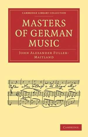 Masters of German Music
