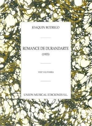 Rodrigo Romance De Durandarte 2gtrs