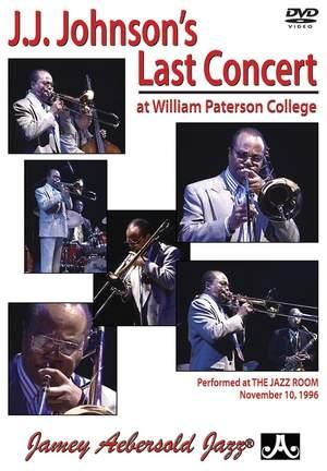 Johnson, J.J.: J.J. Johnson's Last Concert (DVD) Product Image