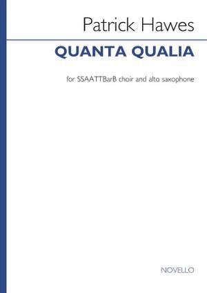 Patrick Hawes_: Quanta Qualia (Version For VOCES8)
