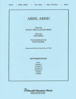 Don Besig_Nancy Price: Arise! Arise!