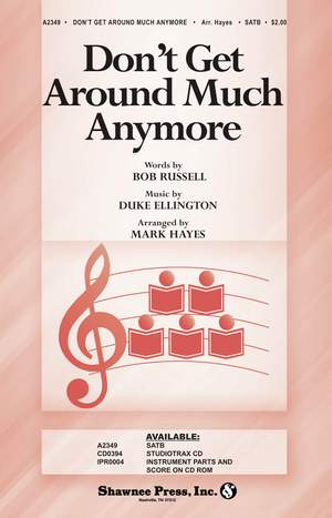 Bob Russell_Duke Ellington: Don't Get Around Much Anymore