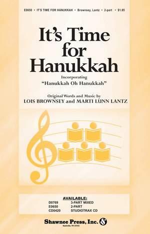 Lois Brownsey_Marti Lunn Lantz: It's Time for Hanukkah