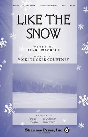 Herb Frombach_Vicki Tucker Courtney: Like the Snow