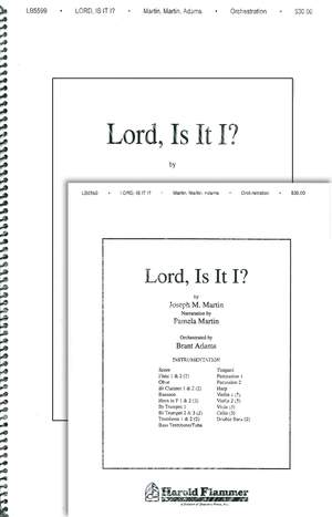 Billy Martin_Joseph M. Martin: Lord, Is It I (from Song of the Shadows)