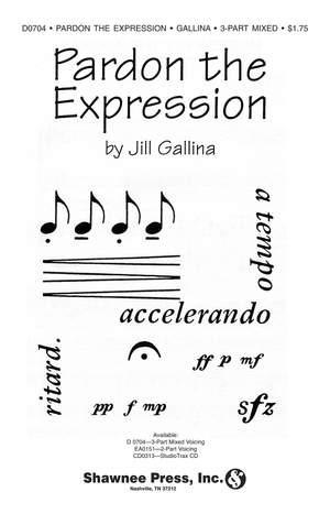 Jill Gallina_Michael Gallina: Pardon the Expression