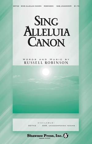 Russell L. Robinson: Sing Alleluia Canon Product Image