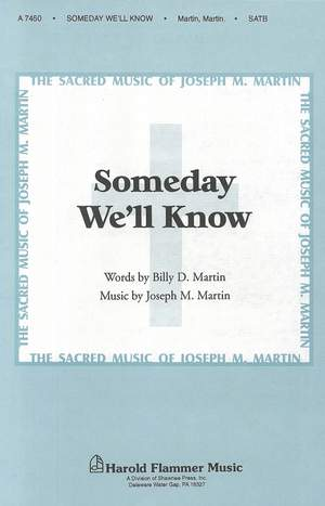 Billy Martin_Joseph M. Martin: Someday We'll Know