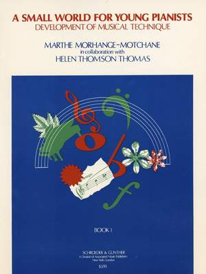 Marthe Morhange-Motchane: Small World for Young Pianists - Book 1