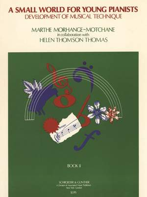 Marthe Morhange-Motchane: Small World for Young Pianists - Book 2
