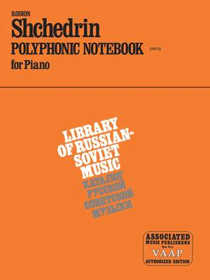 Rodion Shchedrin: Polyphonic Notebook (1972)