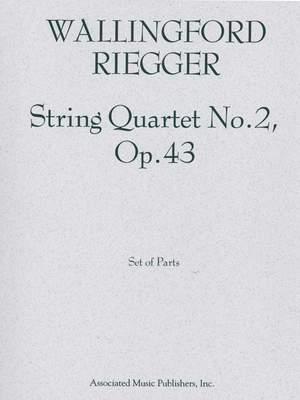 Wallingford Riegger: String Quartet No. 2, Op. 43