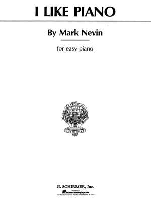Mark Nevin: I Like Piano