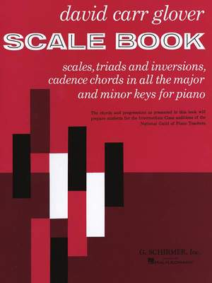 David Carr Glover: Scale Book