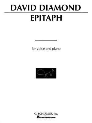 David Diamond: Epitaph