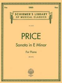 Florence Price: Sonata in E minor