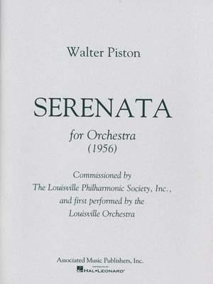 Walter Piston: Serenata