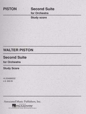 Walter Piston: Suite No. 2 For Orchestra