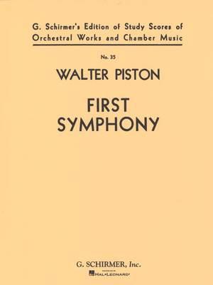 Walter Piston: Symphony No. 1