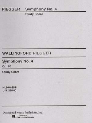 Wallingford Riegger: Symphony No. 4, Op. 63