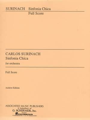 Carlos Surinach: Sinfonia Chica (Small Symphony)