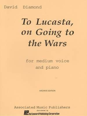 David Diamond: To Lucasta