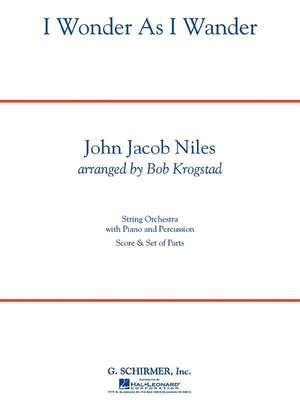 John Jacob Niles: I Wonder As I Wander