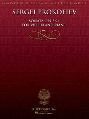 Sergei Prokofiev: Sonata for Violin, Op. 94