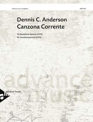 Anderson, D C: Canzona Corrente