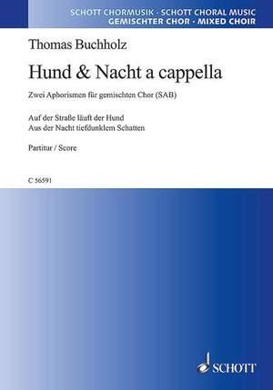 Buchholz, T: Zwei Chorstücke für dreistimmigen Chor