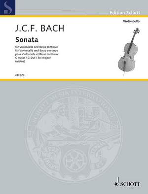 Bach, J C F: Sonata G major