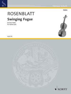 Rosenblatt, A: Swinging Fugue
