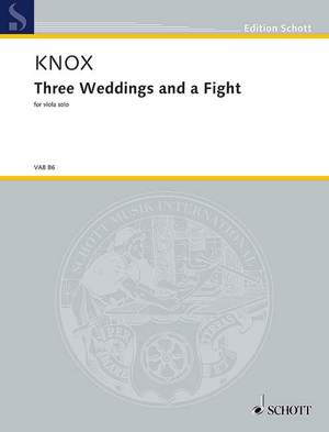 Knox, G: Three Weddings and a Fight