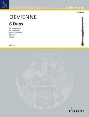 Devienne, F: 6 Duos op. 74