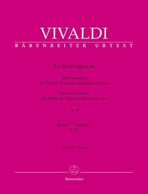 Vivaldi, Antonio: La Stravaganza op. 4  Volume I