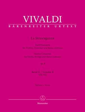 Vivaldi, Antonio: La Stravaganza op. 4 Volume II