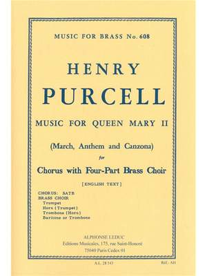 Henry Purcell: Funeral Music For Queen Mary II