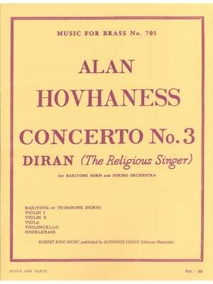 Alan Hovhaness: Alan Hovhaness: Concerto No.3