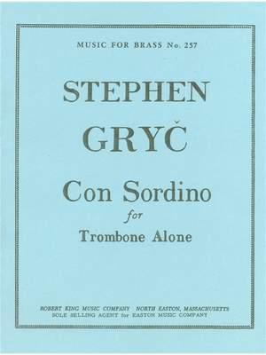 Gryc: Con Sordino