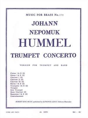 Johann Nepomuk Hummel: Johann Nepomuk Hummel: Trumpet Concerto