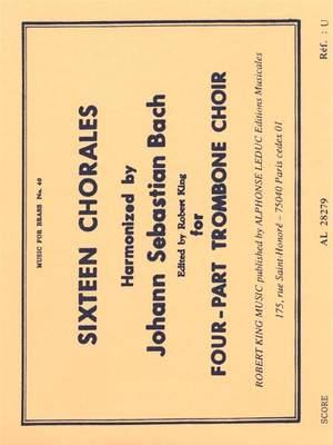 Johann Sebastian Bach: Sixteen Chorales
