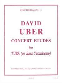 David Uber: Concert Etudes