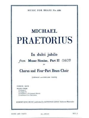 Praetorius: In Dulci Jubilo