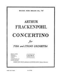 Arthur R. Frackenpohl: Arthur R. Frackenpohl: Concertino