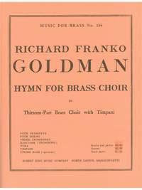 Goldman: Hymn For Brass Choir