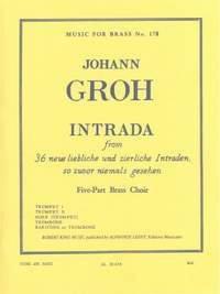 Johann Groh: Johann Groh: Intrada