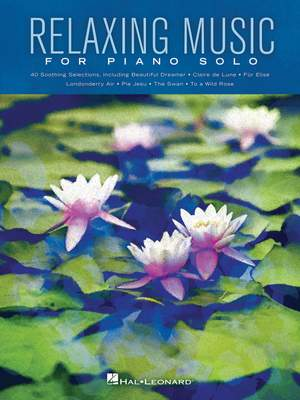 Relaxing Music for Piano Solo Product Image