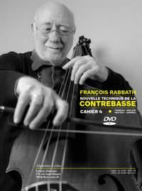 François Rabbath: Nouvelle Technique de la Contrebasse, Cahier 4