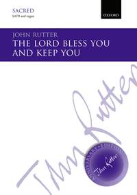 Rutter, John: The Lord bless you and keep you